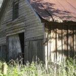 My original photo of the old Helena barn.